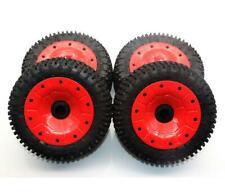 LOSI Beadlock Wheels 2 LOS45032 : DBXL-E 2.0 Silver//Orange