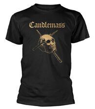 Candlemass 'Gold Skull' T-Shirt - NEW & OFFICIAL!