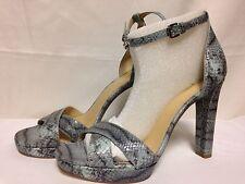 Michael Kors Divia Ankle Strap Sandals 9.5 M Celadon 40S6DVHA1E  New with Box