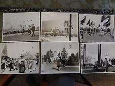 38 Worlds Fair 1939-40 Flushing Queens NYC + Railroads Parade 8X10 Photos
