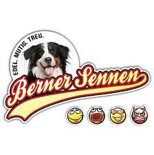 ADESIVI AUTO Berner Sennenhund no. 2 Old School siviwonder Sticker Sennen cane