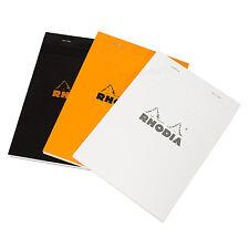 Rhodia A5 5/5 Cuadrado página Grid 160 Diseño Almohadilla portátil papel staplebound matemáticas