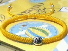 1 x Personalised Name Initial Letter Alphabet Friendship Adjustable Bracelet