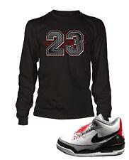 09234cd2d4e 23 Tee Shirt To match Jordan 3 Tinker Shoe Men Graphic T Sizes Sm to 7XL