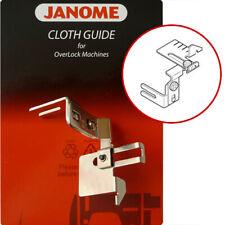 Janome Overlocker Cloth Guide helps keep fabric seams straight