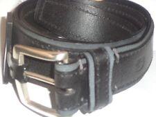 Swiss Army Logo Genuine Leather Belt Black Size 32-Style SG707A