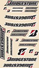 Universale Grande BRIDGESTONE logo kit adesivo Motocross Pitbike N1008