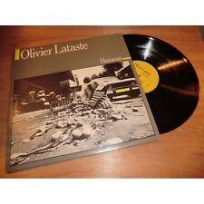 OLIVIER LATASTE humeurs CHANSON FOLK ROCK - PRIVATE press Lp 1981