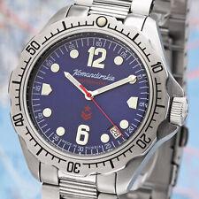 Vostok Komandirskie 2416/480514 und 2416/480614 Military russische Uhr Automatik