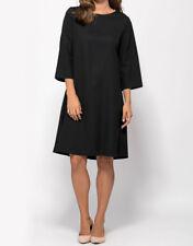 New Womens Fashion Dress Short Sleeve Evening Party Sundress 3/4-length Sleeve