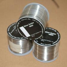 1/5/10m Germany Original WBT-0820 Wire Soldering 0.8mm 4% Ag Silver Solder