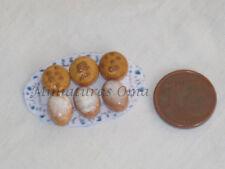 Mantecados polvorones  fimo miniatura 1/12 casa muñecas