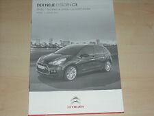 41211) Citroen C3  - technische Daten - Preise & Extras - Prospekt 01/2010