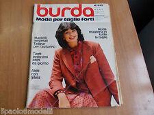 BURDA MODA PER TAGLIE FORTI 1978 N 421