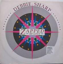 "DEBBIE SHARP ~ Zapped By Love ~ 12"" Single PS"