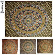 Éléphant Mandala Couverture de jour tenture Murale Couvre Lit Inde Inde yoga Backdrop DECO