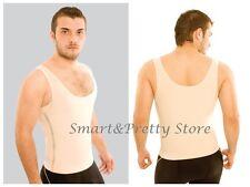 Men's Shapewear Powernet with Zipper Vedette Ref. 314 T Shirt Control Abdominal