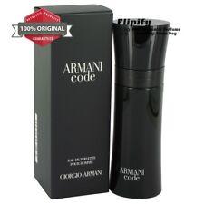 Armani Code Cologne 4.2 oz 2.5 oz 6.7 oz EDT Spray for Men by Giorgio Armani