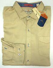 NWT Tommy Bahama Long Sleeve Tan Shirt Mens XLT 2XB 3XT 2XT 3XB Button Down NWT