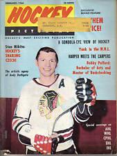1966 (Feb) Hockey Pictorial Magazine Stan Mikita, Chicago Blackhawks ML