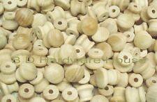 """3/4"""" Small Mushroom Style Wood Knob.... Order 10, 25, 50 or 100 Knobs"""