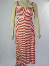 Autograph Ladies Cool Oasis Stripe Maxi Dress sizes 14 16 18 20 22 24