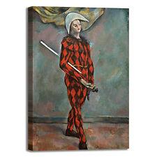Cezanne arlecchino design quadro stampa tela dipinto con telaio arredo casa