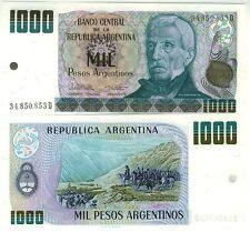 ARGENTINE bllet neuf  1000 PESOS Gnl SAN MARTIN Pick317b PASSAGE DES ANDES 1983