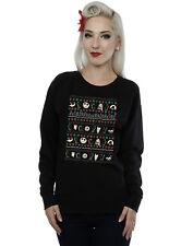 Disney Women's Nightmare Before Christmas Festive Icons Sweatshirt