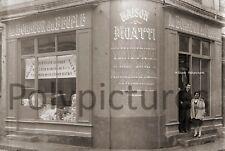 Photo ancien commerce Toulouse Vêtements Tissu Au Bonheur du Peuple tirage repro