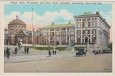 COLUNBIA UNIVERSITY CHAPEL EAST, PHILOSOPHY & KENT HALLS, NYC