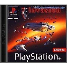 Invasión de Star Trek PS1 (completo) Etiqueta negra Sony PlayStation