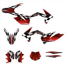 2011 2012 KTM SX SXF 125 150 250 350 450 graphics stickers kit #2500 Red