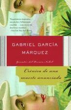 Cronica de una muerte anunciada (Spanish Edition) by Garcia Marquez, Gabriel