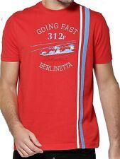 T-SHIRT Tee Ferrari Automóvil deportivo Berlinetta GT Racing 1969 312p rojo ES