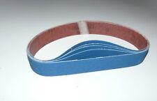Schleifbänder 13x610, Zirkonschleifbänder, Fingerschleifer, Industrie, K40 -K120