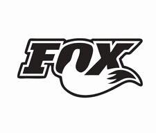 Fox Shocks Motocross MX Bike Vinyl Die Cut Car Decal Sticker - FREE SHIPPING