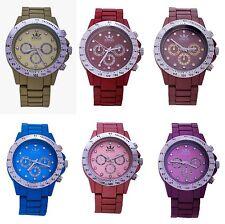 Nuevos Reyes Fashion Correa Metálica Silver Dial Relojes de señoras Analógico Movimiento De Cuarzo