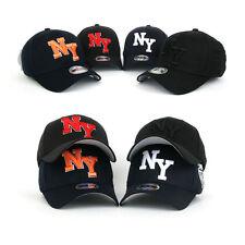 NY New York Flex Stretch Fit Herren Damen Basecap Mütze Baseball Cap Kappe Hüte