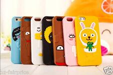 KAKAO Friends iPhone Galaxy Note SE/5/6/7/S/Plus Apeach Silicone Soft Case Cover