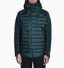 Men's Nike Sportswear Tech Fleece Aeroloft Hooded Jacket 806838-364 Green mutli