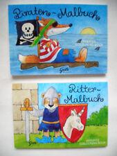 *Mini MALBUCH*A7*GRÄTZ*Pirat~Ritter~*