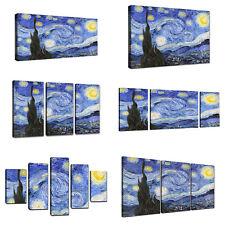 Quadri Moderni Van Gogh Notte Stellata Stampa Su Tela Canvas Quadro XXL Arte