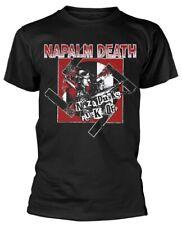 Napalm Death 'Nazi Punks' T-Shirt - NEW & OFFICIAL!