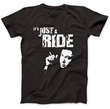 Bill Hicks Inspiré juste une Ride T-shirt 100% Premium Coton implacable Sane Man