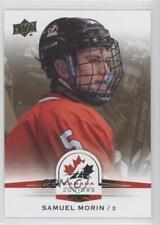 2014 Upper Deck Team Canada Juniors Gold Sepia #93 Samuel Morin (National Team)