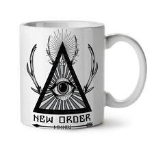 New World Order Crew NEW White Tea Coffee Mug 11 oz | Wellcoda