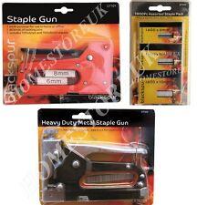 Heavy Duty metallo o MEDUIM DUTY CUCITRICE fucile o 2400pcs Staples Tappezzeria fai da te