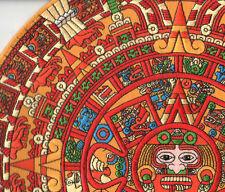 """AZTEC Calendarium 馬雅曆2012 CALENDER 12"""" Large MAYAN Calendario ημερολόγιο カレンダー"""