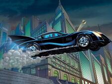 Awesome Batmobile Gotham Batman Cool Rare Art Giant Wall Print POSTER